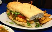 Friend Shrimp Poboy